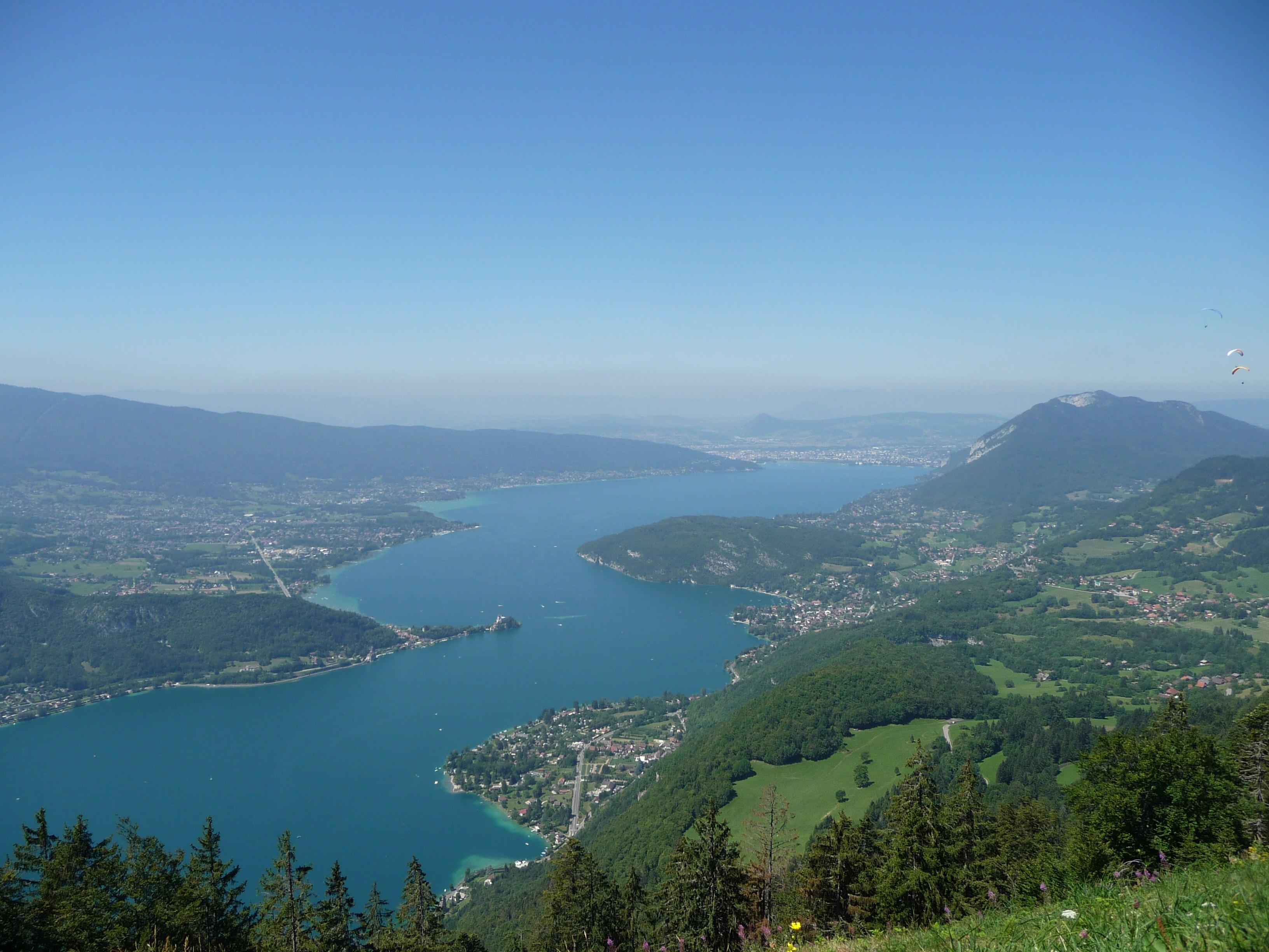 Les points de vue sur annecy mont veyrier parmelan - Office du tourisme lac d annecy ...