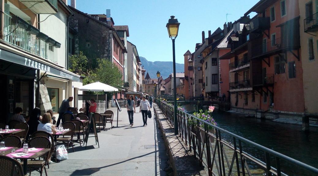 Le Thiou à Annecy Le Vieux
